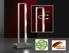 Honsel 50193 Anders LED Tischleuchte Büro Leuchte Lese Lampe dimmer Chrom