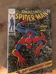the Amazing Spider-Man # 100 (Marvel Comics, 1971) Anniversary Issue,  G/VG 3.0