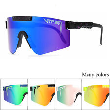 Pit Viper Polarized Cycling Sunglasses Sport Goggles TR90 Men/Women Outdoor@ UK