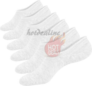 Lot 3-12 Pairs Women's Boat Liner Invisible No Show Low Cut Solid Cotton Socks