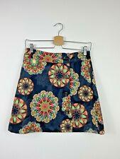 Joe Browns Skirt UK 8 NEW Black Mandela Print Surely A Winner Button Down A Line