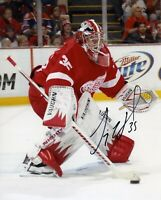 Jimmy Howard Autographed Signed 8x10 Photo ( Red Wings ) REPRINT