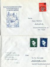 Schönes Lot 4 Erstagsbriefe DDR - b0770