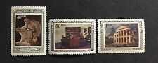 RUSSIA 1950 #1435-1437 Anniversary of death of Lenin MNH