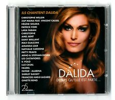 RARE DOUBLE 2 CD ★ ILS CHANTENT DALIDA ★ 41 TITRES ALBUM 2012 BARCLAY