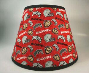 Large Ohio State University Buckeyes Helmet Fabric Lamp Shade Lampshade NCAA