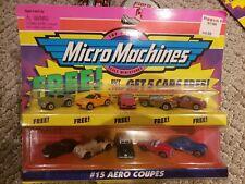 1997 Micro Machines #15 Aero Coupes! Pontiac Fiero! NIB 65100