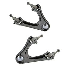 Pair Set of 2 Front Upper Control Arm & Ball Joints Mevotech For Acura CL Accord