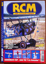 Rcm magazine no. 257 of 9/2002; pan enclosure glider schweizer i-e26 3,62 m