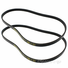 2 x Rubber Drive Belt Fits FLYMO Vision Compact 330 350 380 Lawnmower FLY055