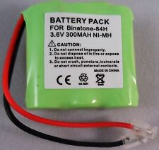 84H BATTERY 3.6V CE0681 COMPATIBLE WITH BINATONE ADVANCE 100 200 E3300 E3600