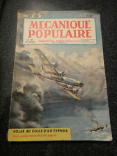 MAGAZINE MECANIQUE POPULAIRE de MAI 1950 - 148 PAGES - MAGAZINE VINTAGE