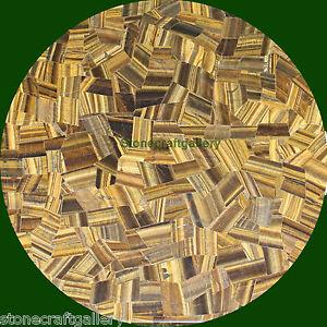 "42"" Coffee Table Top Marble Tiger eye Inlay Handmade Work Home Decor Gift"