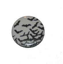Button / Pin - many bats - Anstecker Badge Fledermäuse Fledermaus Gothic Batcave