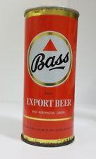 Bass Export 450 ml Straight  Steel Beer Can (New Zealand)