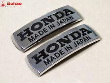 Motorcycle Petrol Fuel Tank Badges ABS Emblems Decal Sticker for Honda Custom