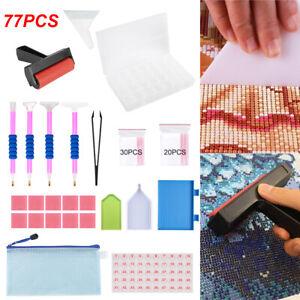 77PZ 5D Diamante Ricamo Strumenti Pittura Arte Punto Croce Kit Accessori