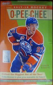 2017-18 - O-Pee-Chee - Base Team Set - NHL Hockey cards - You Pick U-Pick Team