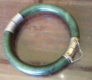 Vintage jade bangle