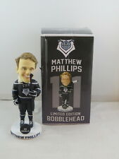 Victoria Royals Bobblehead - Matthew Phillips 50 Goals - New In Box