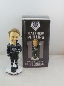 Victoria Royals Bobblehead - Matthew Phillips 50 Goals - New In Box