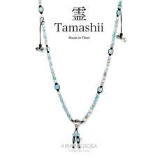 NECKLACE ORIGINAL TIBETAN TAMASHII MUDRA LACE SKY BLUE NHS1500-165