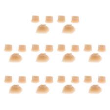 10 Juegos Almohadillas de Flauta Piccolo Pads de Madera Viento para Amantes