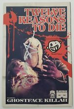 Ghostface Killah Signed Twelve Reasons To Die Comic Book Issue 1 Wu-Tang Variant