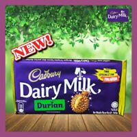 CADBURY'S CHOCOLATE BARS DURIAN FLAVOUR LIMITED EDITION ONLY IN MALAYSIA