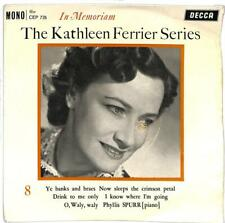 "Kathleen Ferrier - The Kathleen Ferrier Series: In Memorian 8 - 7"" Record"