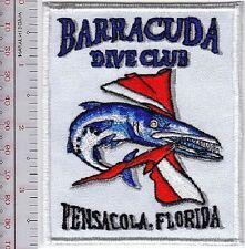 SCUBA Diving Florida Barracuda Dive Club Pensicola, Florida White Patch