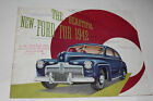 1942 Ford Color Sales Catalog Brochure, Original
