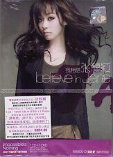 JANE ZHANG 張靚穎 Believe In Jane 我相信 2010 MALAYSIA DELUXE DIGIPAK CD + DVD RARE