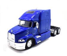 New Ray 1:32 Mack Pinnacle Metal Truck Model Toy Blue