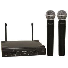 BESPECO GM905 - Radiomicrofono Doppio Palmare VHF