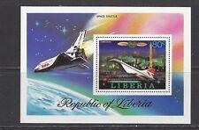 LIBERIA - 800 S/S - MNH - 1978 - PROGRESS OF AVIATION - SPACE SHUTTLE & CONCORDE