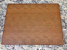"Cherry Butcher Block Cutting Board NEW end grain 14"" X 18"" X 1-3/8"""