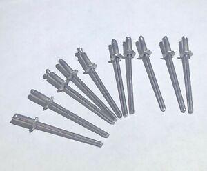 Wholesale 5 pair flower ROSETTE RIVETS GM FORD MOPAR 10 general stainless steel