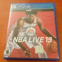 NBA Live 19 Sony PlayStation 4 PS4 EA Sports Electronic Arts Basketball Everyone