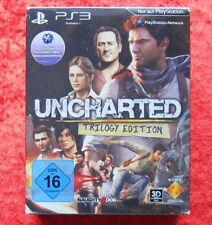Uncharted Trilogy Edition 1, 2 + 3, PS3 PlayStation 3 Spiel Neu-OVP