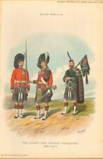 Lithograph Military Art Prints