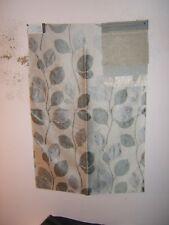 "Lee Joha Groundwork ""Foliage Silk"" floral fabric remnant color mist"