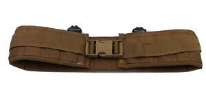 Specialty Defense Military USMC Coyote  Padded War Operator Gun Belt SZ 32 Y424