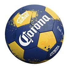 Corona Grip 'N Rip Soccer Ball Blue Size 5 Field Game Sport Goal Net Score Gold