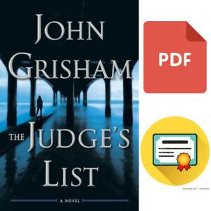 The Judge's List: A Novel BY John Grisham