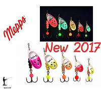 Mepps E spinner new for 2017 Variety colours & sizes - Excelent for Salmon