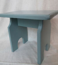Child's STOOL ~ Vintage Time Out CHAIR Foot Rest Rustic Display Pet STEP Upcycle