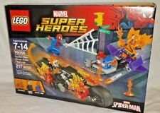 NEW 76058 LEGO SPIDER-MAN GHOST RIDER TEAM UP Hobgoblin 217pc Marvel set RETIRED