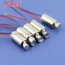 10PCS 4mm*8mm DC 1.5V-3V Micro Coreless Vibrating Vibration Motor Mini Toy DIY