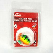 Sauger Saugeye Trout 4 PC Berkley Walleye Rig//Crawler Harness #1- Walleye